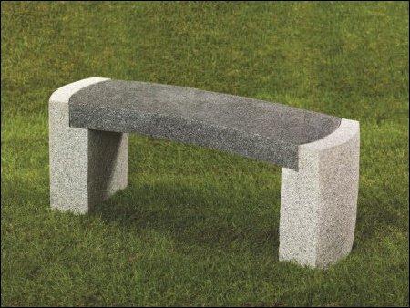 Gartenmöbel aus Granit, Bank, Granitbank, Gärtnerei Weißer, Floraparadies