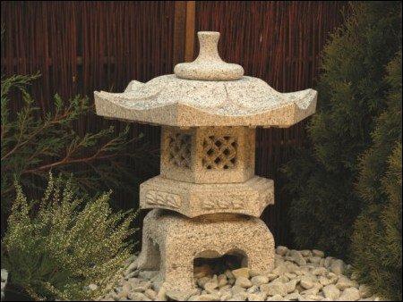Laterne, Gartendekoration, Gärtnerei Weißer, Rokkaku Yukimi